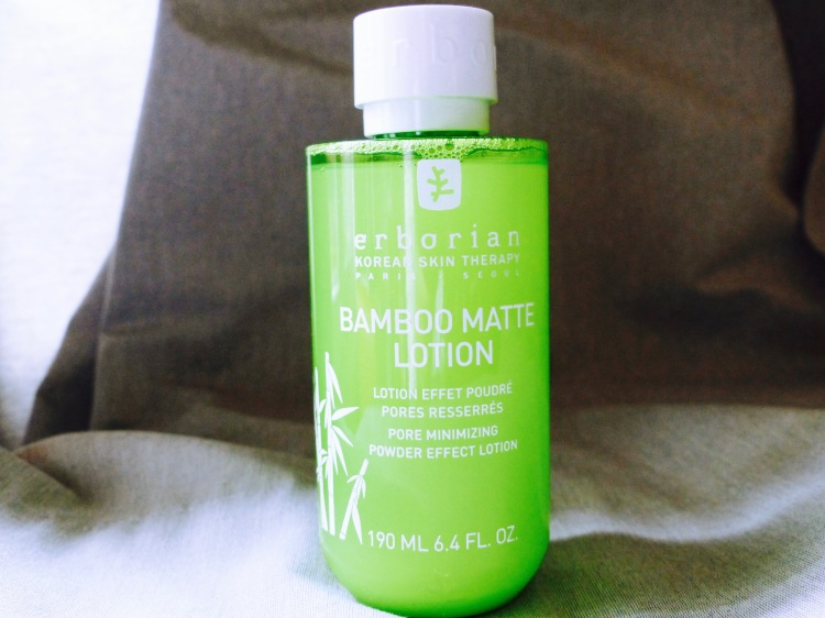 erborian bamboo matte lotion review