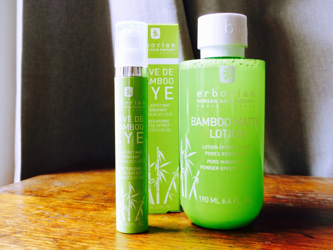 Erborian bamboo matte product review