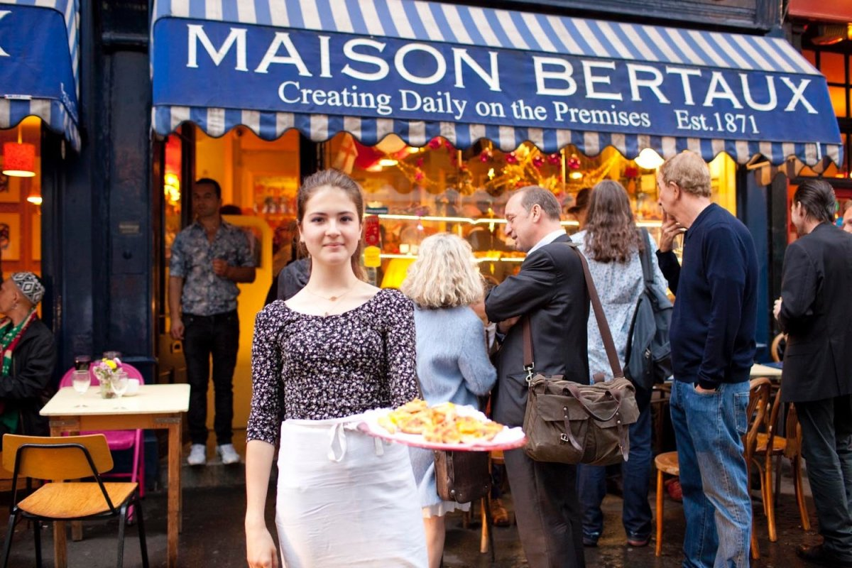 A Taste of Paris in London: Maison Bertaux